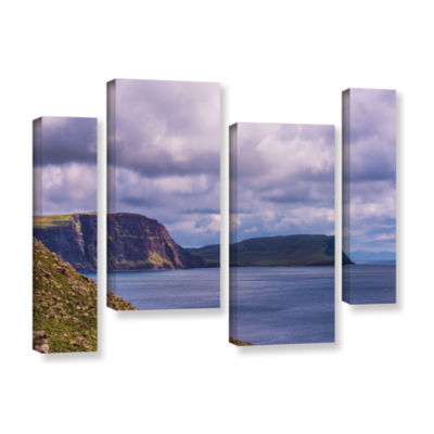 Brushstone Above The Blue 4-pc. Gallery Wrapped Staggered Canvas Wall Art