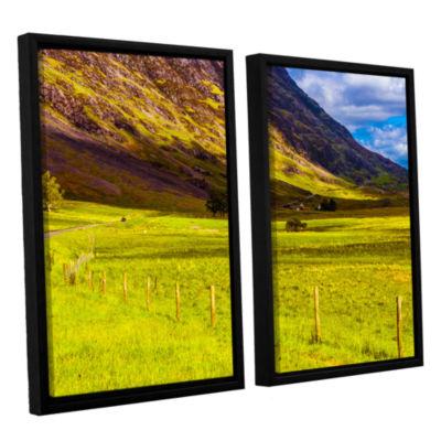 Brushstone Highland Way I 2-pc. Floater Framed Canvas Wall Art