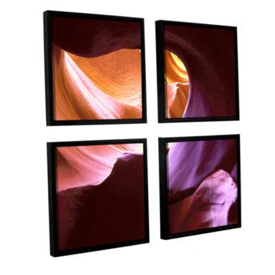 Brushstone Ancient & Sacred 4-pc. Framed Canvas Square