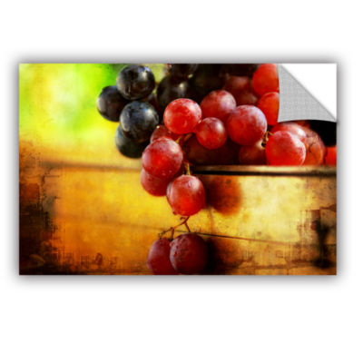 Brushstone Autumn Grapes Removable Wall Decal