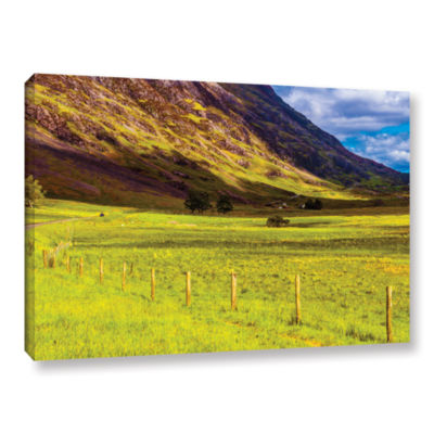 Brushstone Highland Way I Gallery Wrapped Canvas Wall Art