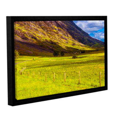 Brushstone Highland Way I Gallery Wrapped Floater-Framed Canvas Wall Art