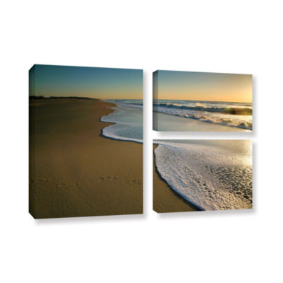 Brushstone Surf and Sand 3-pc. Flag Gallery Wrapped Canvas Wall Art