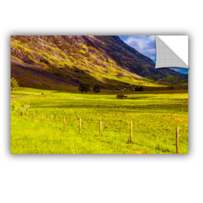 Brushstone Highland Way I Removable Wall Decal