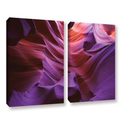 Brushstone Ancient Canyon 2-pc. Gallery Wrapped Canvas Wall Art