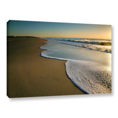 Brushstone Surf and Sand Gallery Wrapped Canvas Wall Art