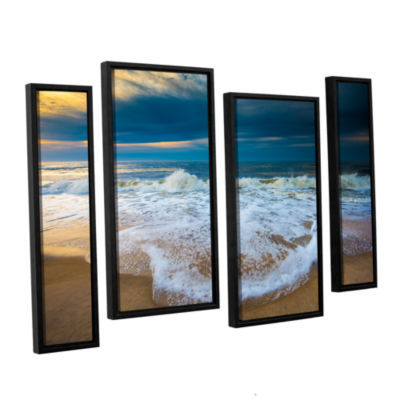 Brushstone Never Ending 4-pc. Floater Framed Staggered Canvas Wall Art