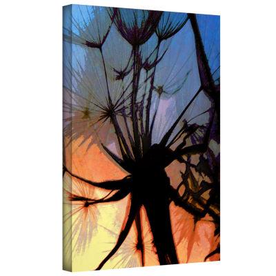 Brushstone Autumn Hues Gallery Wrapped Canvas WallArt