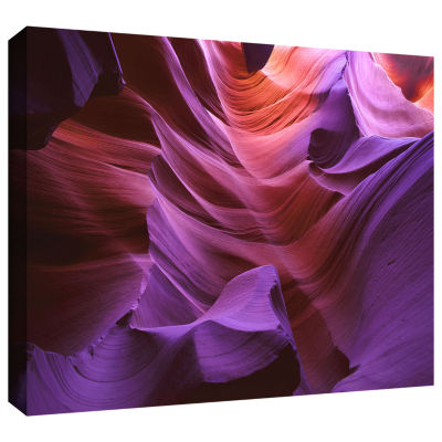Brushstone Ancient Canyon Gallery Wrapped Canvas Wall Art