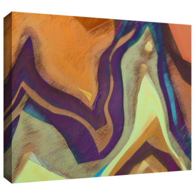 Brushstone Arrt Attack Gallery Wrapped Canvas WallArt