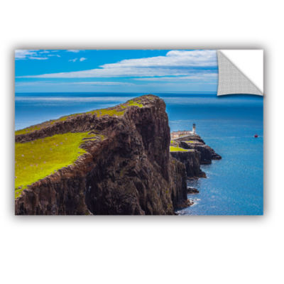 Brushstone Niest Point Lighthouse II Removable Wall Decal