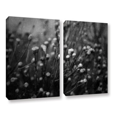 Brushstone Anticipation Of 2-pc. Gallery Wrapped Canvas Wall Art