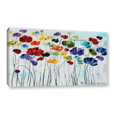 Brushstone Lilies Gallery Wrapped Canvas Wall Art