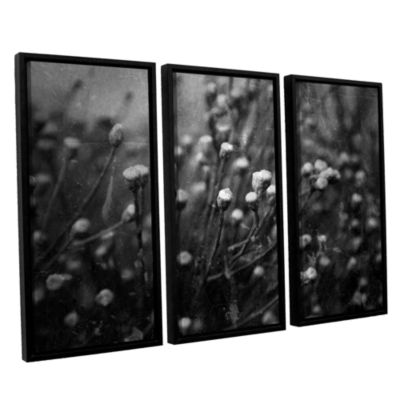 Brushstone Anticipation Of 3-pc. Floater Framed Canvas Wall Art