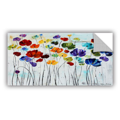Brushstone Lilies Removable Wall Decal
