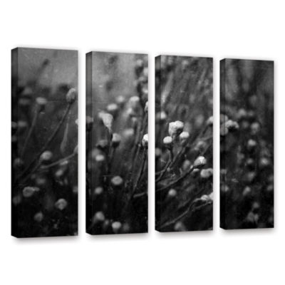 Brushstone Anticipation Of 4-pc. Gallery Wrapped Canvas Wall Art
