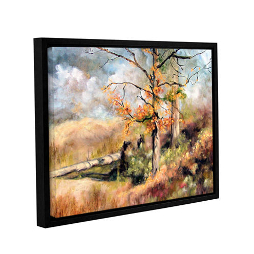 Brushstone Autumn Gallery Wrapped Floater-Framed Canvas Wall Art