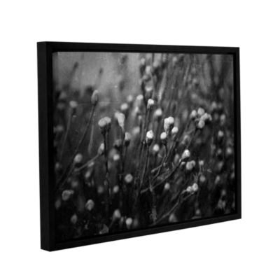 Brushstone Anticipation Of Gallery Wrapped Floater-Framed Canvas Wall Art