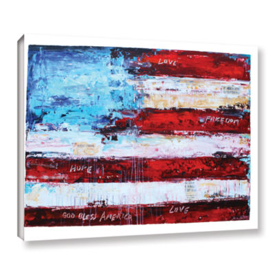 Brushstone America Gallery Wrapped Canvas Wall Art