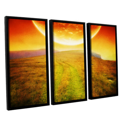 Brushstone Apocolypse Now 3-pc. Floater Framed Canvas Wall Art
