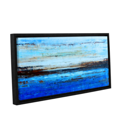 Brushstone Artic Gallery Wrapped Floater-Framed Canvas Wall Art