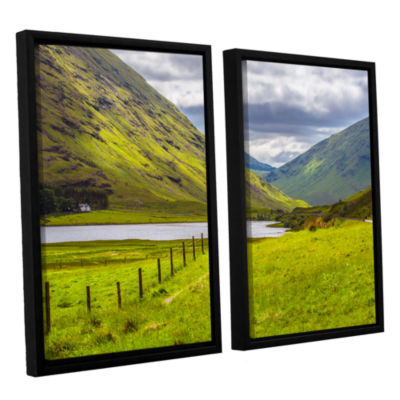 Brushstone At Home In The Mountains 2-pc. FloaterFramed Canvas Wall Art