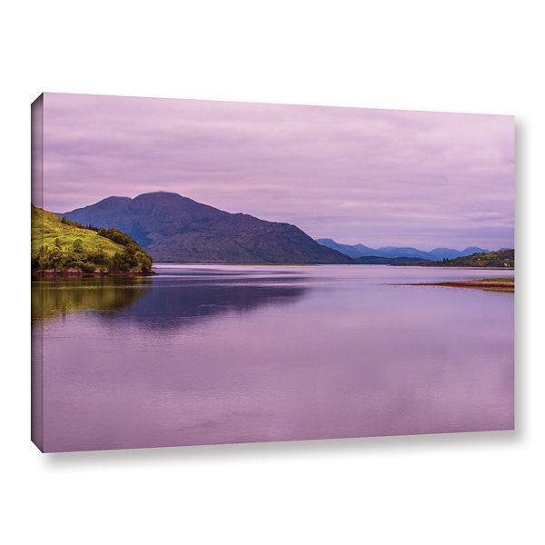Brushstone Meeting Of The Waters Gallery Wrapped Canvas Wall Art