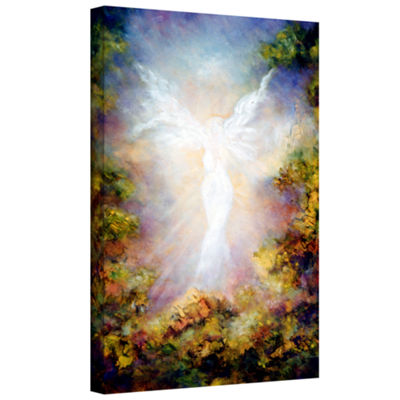 Brushstone Apparition Gallery Wrapped Canvas WallArt