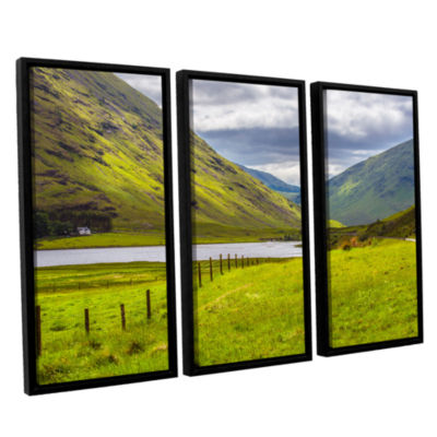 Brushstone At Home In The Mountains 3-pc. FloaterFramed Canvas Wall Art