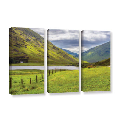 Brushstone At Home In The Mountains 3-pc. GalleryWrapped Canvas Wall Art