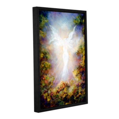 Brushstone Apparition Gallery Wrapped Floater-Framed Canvas Wall Art