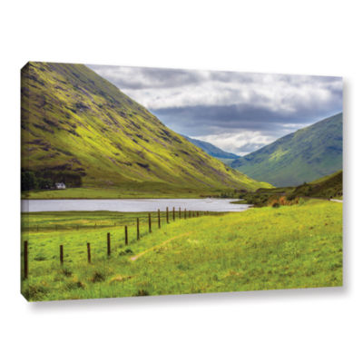 Brushstone At Home In The Mountains Gallery Wrapped Canvas Wall Art