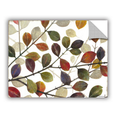 Brushstone Autumn Leaves Removable Wall Decal