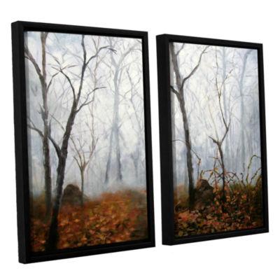 Brushstone Autumn Mist 2-pc. Framed Canvas Wall Art