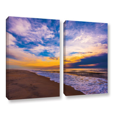 Brushstone The Long Way 2-pc. Gallery Wrapped Canvas Wall Art