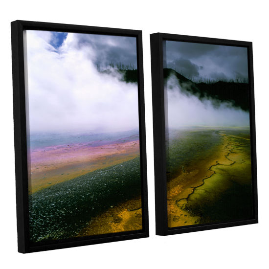 Brushstone Approaching Storm 2-pc. Framed Canvas Wall Art