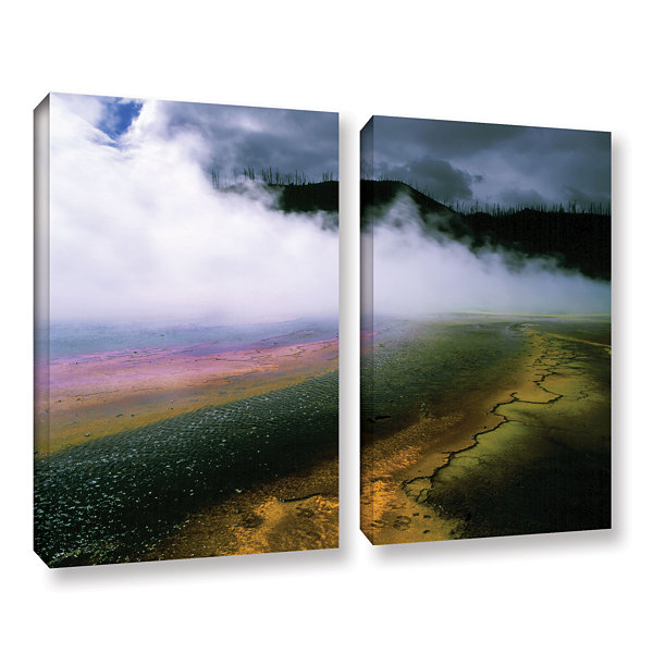 Brushstone Approaching Storm 2-pc. Gallery WrappedCanvas Wall Art