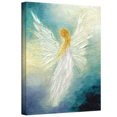 Brushstone Angel Gallery Wrapped Canvas Wall Art