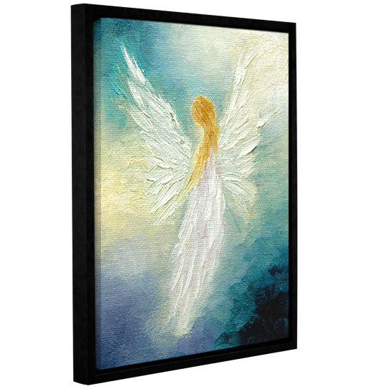 Brushstone Angel Gallery Wrapped Framed Canvas Wall Art