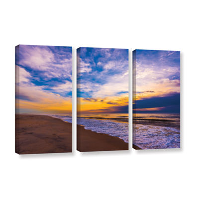 Brushstone The Long Way 3-pc. Gallery Wrapped Canvas Wall Art