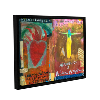 Brushstone Art Journal Abundance Gallery Wrapped Framed Canvas Wall Art