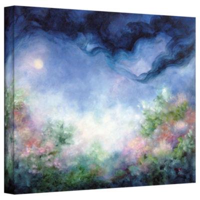 Brushstone Angel Moon Gallery Wrapped Canvas WallArt