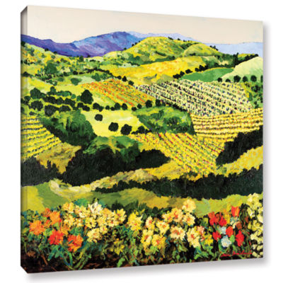 Brushstone Autumn Remembered Gallery Wrapped Canvas Wall Art