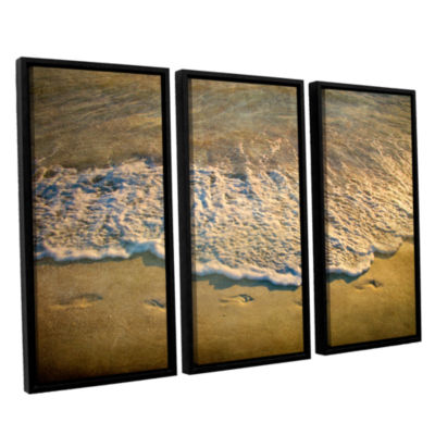 Brushstone At Waters Edge 3-pc. Framed Canvas WallArt