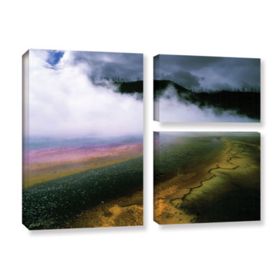 Brushstone Approaching Storm 3-pc. Gallery WrappedCanvas Wall Art