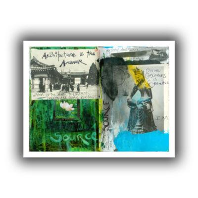 Brushstone Art Journal Architecture Canvas Wall Art
