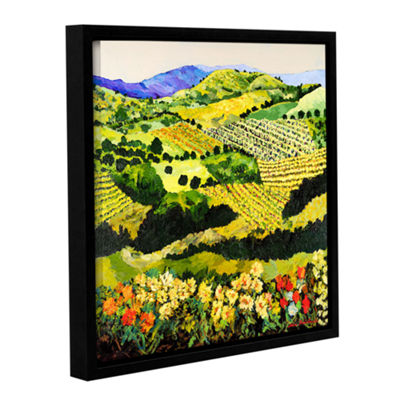 Brushstone Autumn Remembered Gallery Wrapped Framed Canvas Wall Art