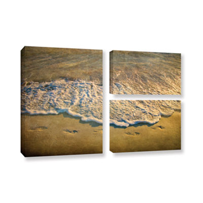 Brushstone At Waters Edge 3-pc. Gallery Wrapped Canvas Wall Art