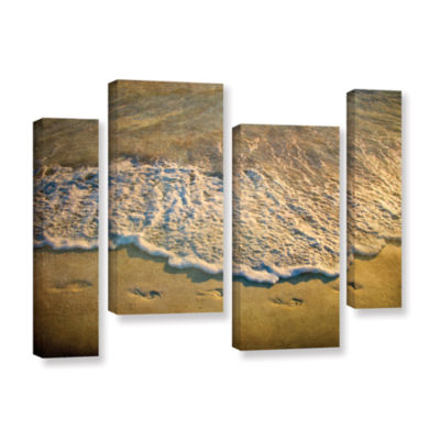 Brushstone At Waters Edge 4-pc. Gallery Wrapped Staggered Canvas Wall Art