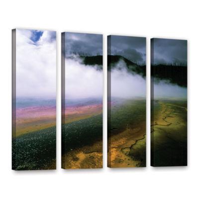 Brushstone Approaching Storm 4-pc. Gallery WrappedCanvas Wall Art
